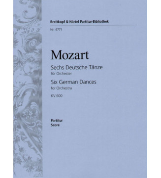 6 German Dances K. 600