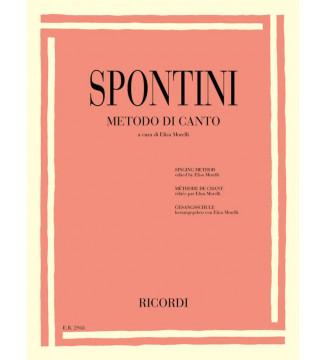 Gaspare Spontini: Metodo di...