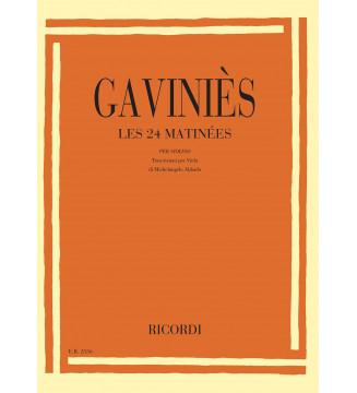 24 Matinees Per Violino