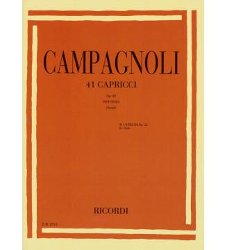 41 Capricci Op. 22