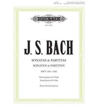 Sonatas & Partitas BWV...