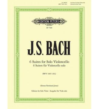 Suites BWV 1007-1012...