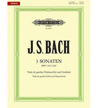 3 sonaten BWV 1027-1029