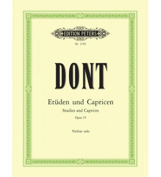 Etuden und Caprice op 35