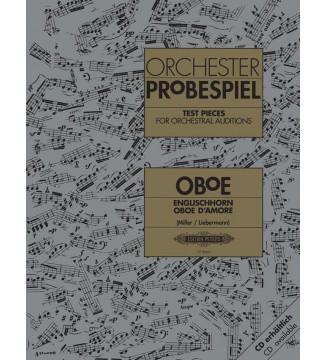 Orchester Probespiel Oboe