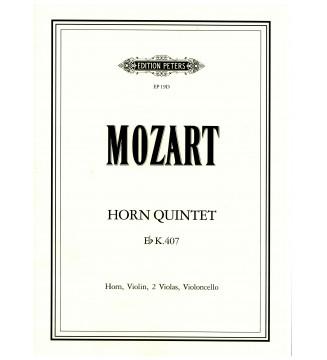 Horn quintet Eb KV 407