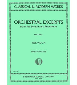 Orchestral excerpts volume 1