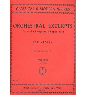 Orchestral Excerpts from...