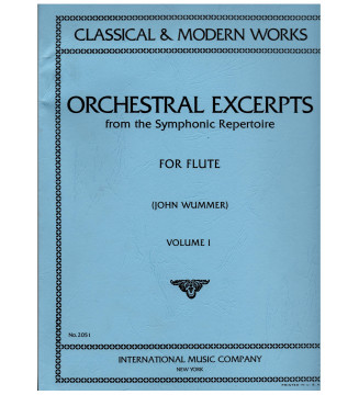 Orchestral excerpts for...