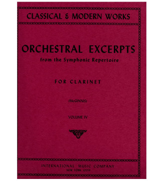 Orchestral Excerpts vol.4...