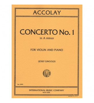 Violin Concert n 1 in A minor