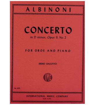 Concerto in D minor op 9 n 2