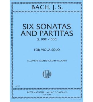 Six sonatas and partitas...