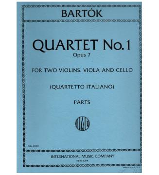 Quartet n 1 op 7 2 VLN,...
