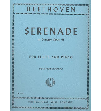 Serenade D Maj Op41