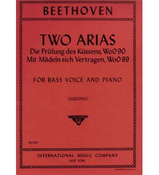Two Arias (basso e pianoforte)