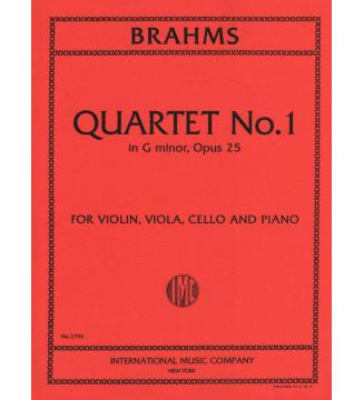 Quartet n 1 in G minor op 25