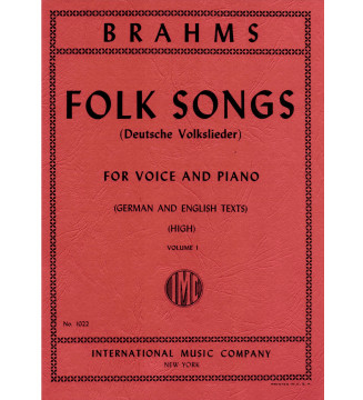 Folk songs for voice and...