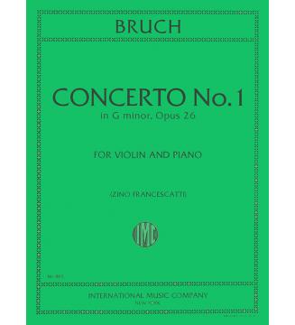 Violin Concerto op 26