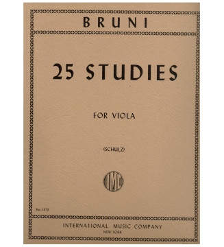 25 studi per viola