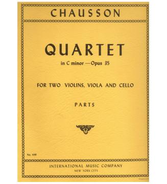 Quartet in C minor op 35