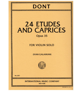 24 Etudes and Caprices op 35
