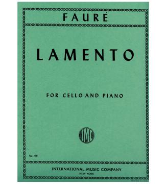 Lamento for cello and piano