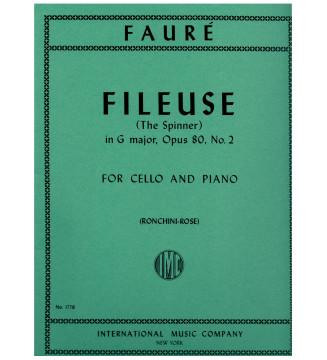 Fileuse in G major op 80 n 2