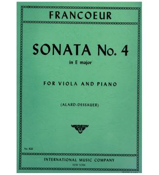 Sonata n 4 in E major for...