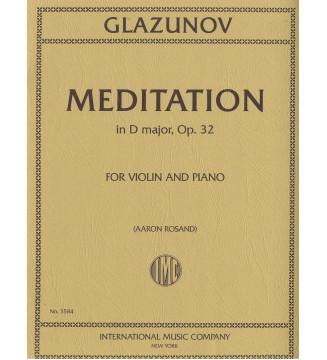 Meditation in D major op 32