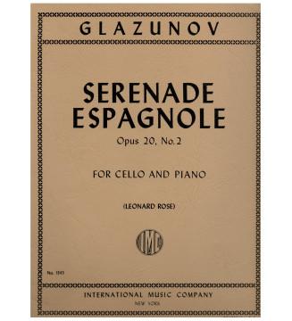 Serenade espagnole op20 n2...
