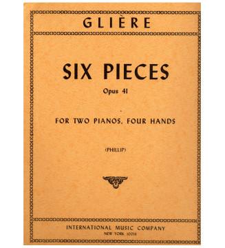 Six Pieces op 41
