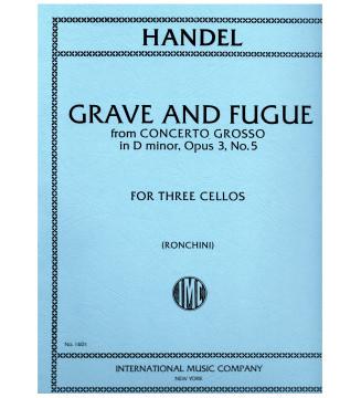 Grave und fugue D minor op...
