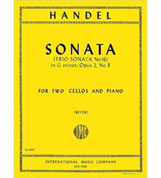 Sonata In Sol M. Op. 2 N. 8...