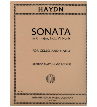 Sonata in C major Hob.VI:6...