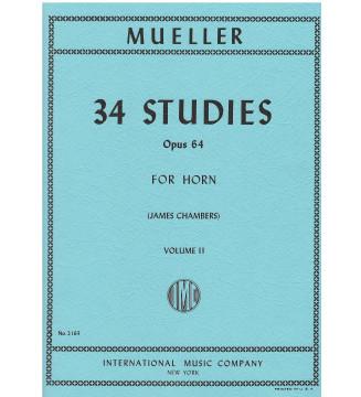 34 Studi Op. 64 Vol. 2