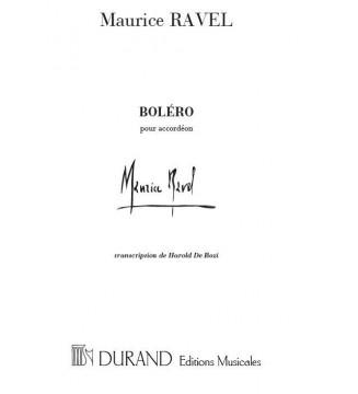Bolero Transcription Pour...
