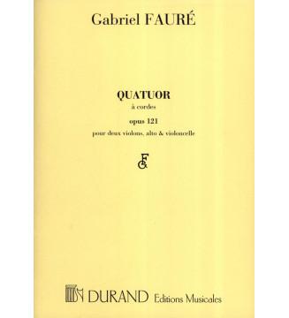 Quatuor a Cordes  Opus 121