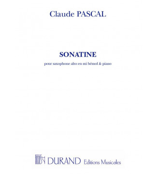 Sonatine Saxophone/Piano