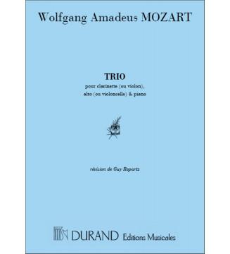 Trio Kv 498  Pour Piano...