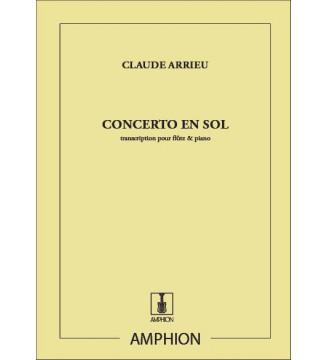 Concerto En Sol Fl/Piano