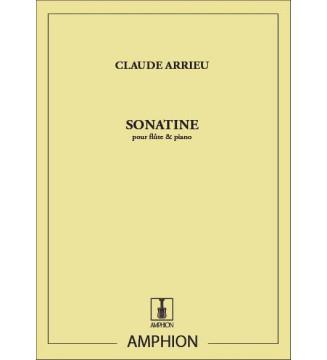 Sonatine, Pour Flute Et Piano