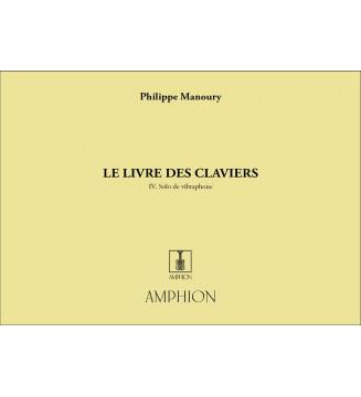 Livre Des Claviers Vibraphone