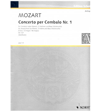 Concerto per cembalo n 1...