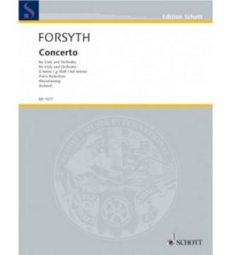 Concerto for viola G minor