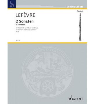 Two Sonatas - F major and...