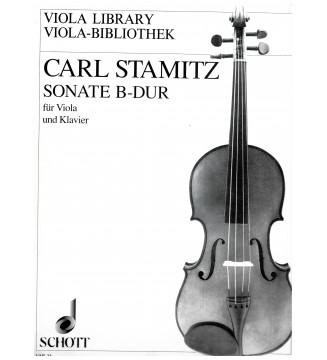 Sonate B-dur fur viola und...