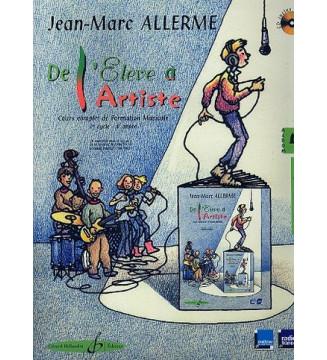 De L'Eleve A L'Artiste Vol....