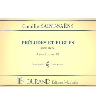 Prelude Et Fugue Op 109...
