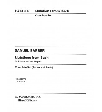 Mutations from Bach